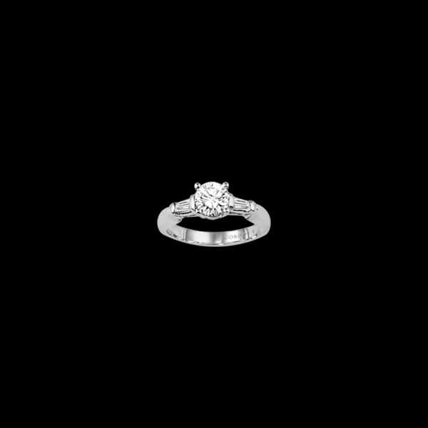 PLATINUM AND DIAMOND ENGAGEMENT RINGS by Cordova
