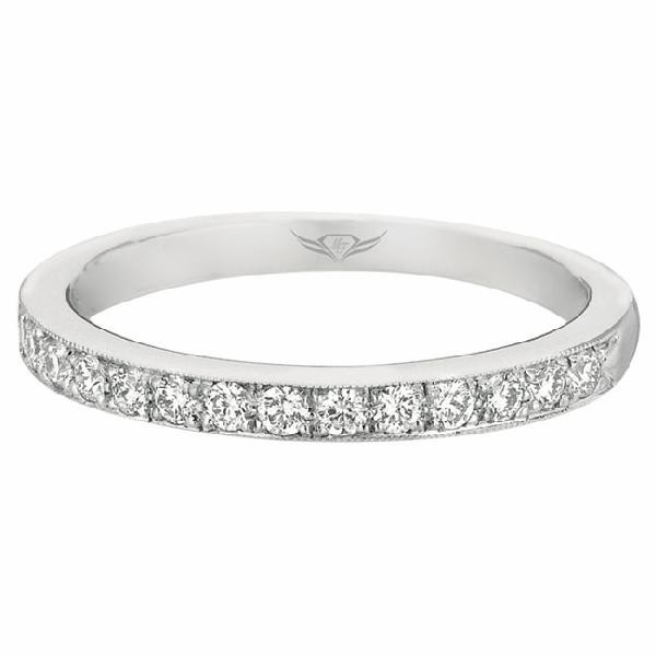 GOLD AND DIAMOND WEDDING BANDS by Martin Flyer