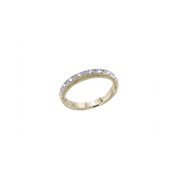 GOLD AND DIAMOND WEDDING BANDS by Cordova