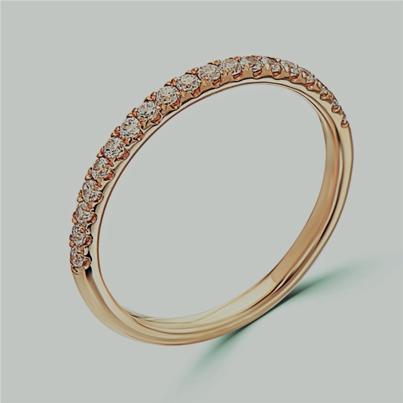 GOLD AND DIAMOND WEDDING BANDS by Eli Jewels
