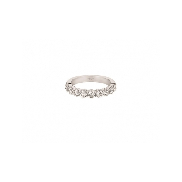 PLATINUM AND DIAMOND WEDDING BANDS by Martin Flyer