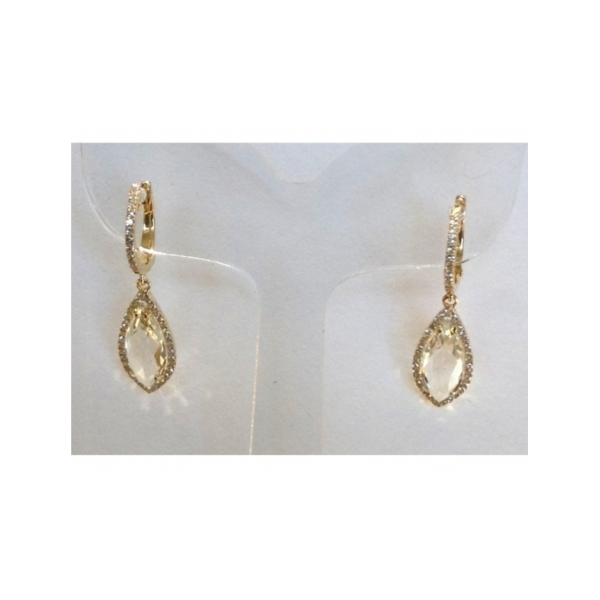 14 KARAT GOLD AND  ---- EARRINGS by Dilamani