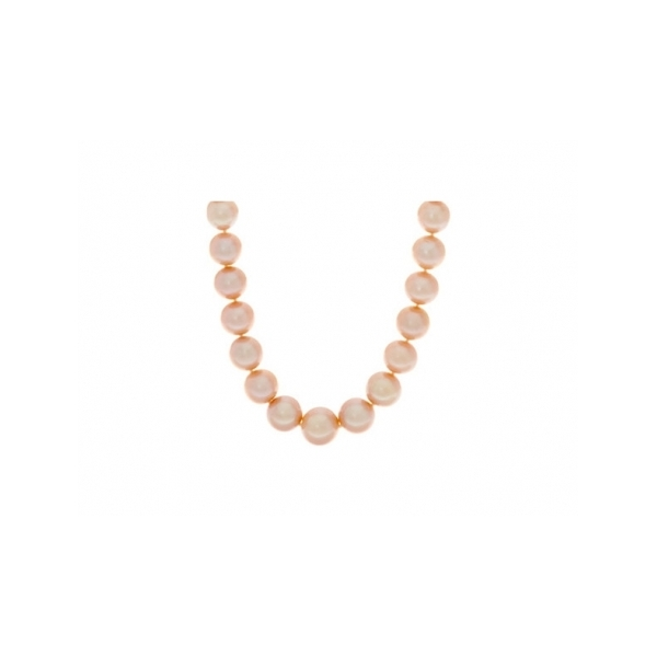 PEARL NECKLACE/GOLD by Honora