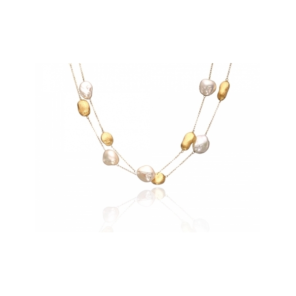14 KARAT PEARL NECKLACE by Yvel