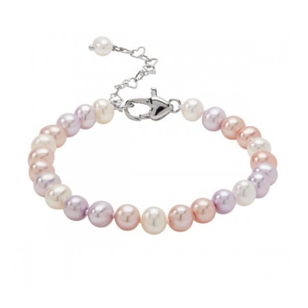 STERLING SILVER/PEARL BRACELET by Honora