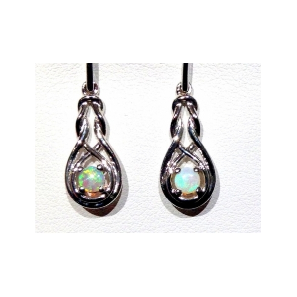 Sterling silver semi precious earrings 001 604 00022 for Valentines jewelry dallas pa